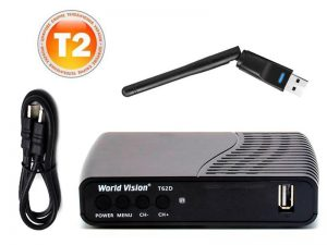 World Vision T62D + Wi-Fi + HDMI